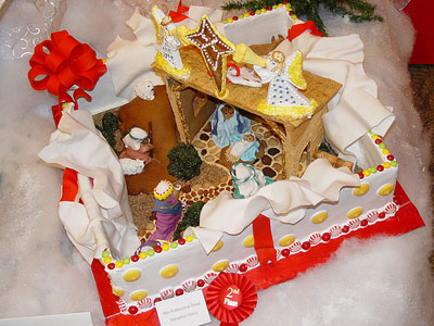 Gingerbread House Idea 4