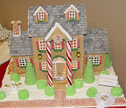 Gingerbread House Idea 1