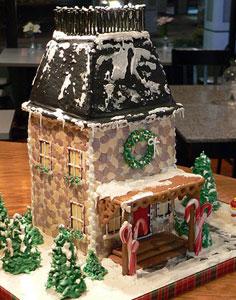Gingerbread CobblestoneHouse