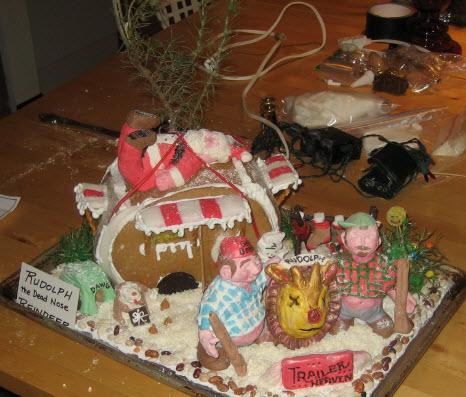 gingerbread trailer park contest