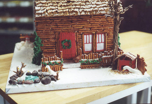 Gingerbread House Competition Grove Park Inn 2