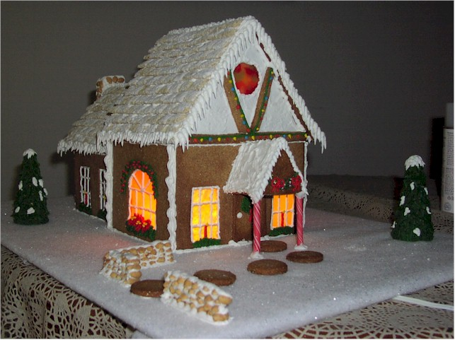 Gingerbread House Windows can be made a number of ways... from ... on