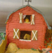 gingerbread house pattern - barn