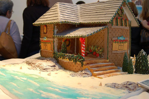 gingerbread beach house template