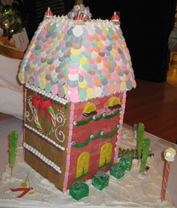 Gingerbread City House - View 2