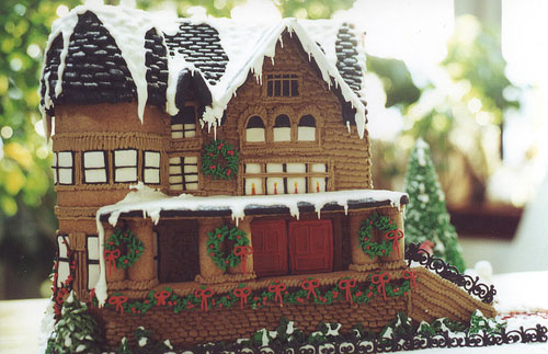 Gingerbread House Competition Grove Park Inn