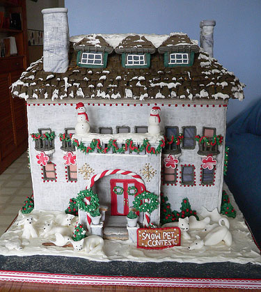 Unusual Gingerbread House
