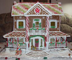 Gingerbread Plantation House