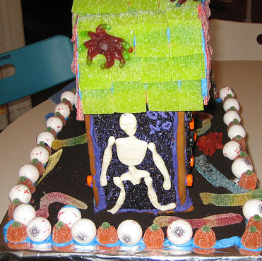 haunted gingerbread house 2