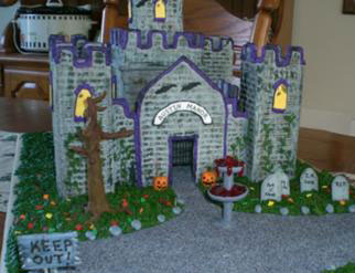 haunted gingerbread castle