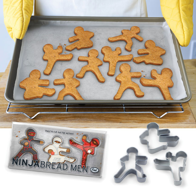 ninjabread man cookie cutters