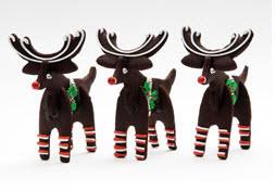 3-D Reindeer Cookies