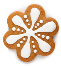 soft gingerbread cookie