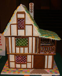 gingerbread tudor pattern