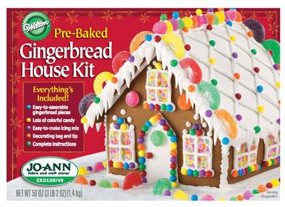 Christmas Gingerbread House Kit.Wilton Gingerbread House Kit