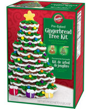 Wilton gingerbread tree kit