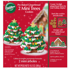 Wilton gingerbread Christmas tree
