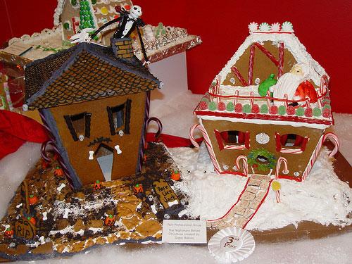 Gingerbread House Idea 4