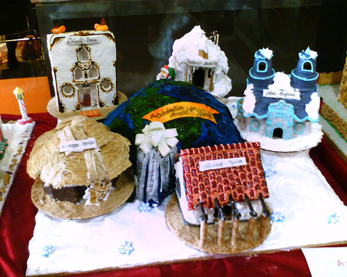 Around The World Gingerbread Houses