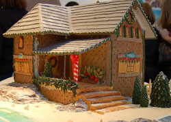 gingerbread beach house