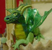 edible clay dragon