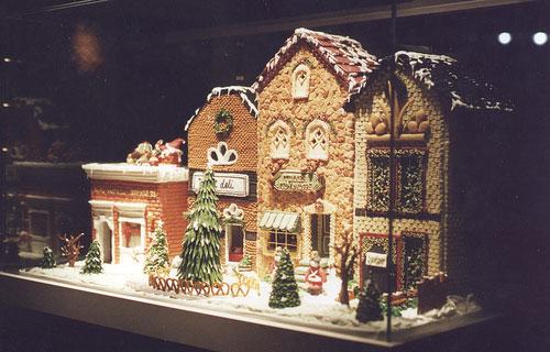 Gingerbread House Idea 1
