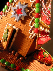 free gingerbread house pattern - cabin