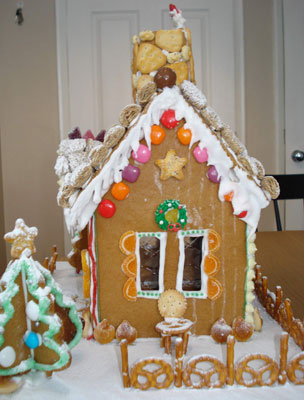 gingerbread bungalow other side