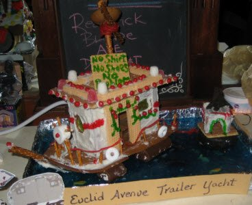 gingerbread yacht