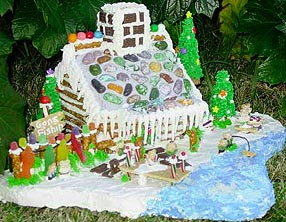 gingerbread-house-ponds-lake