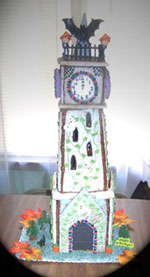 gingerbread clock tower template