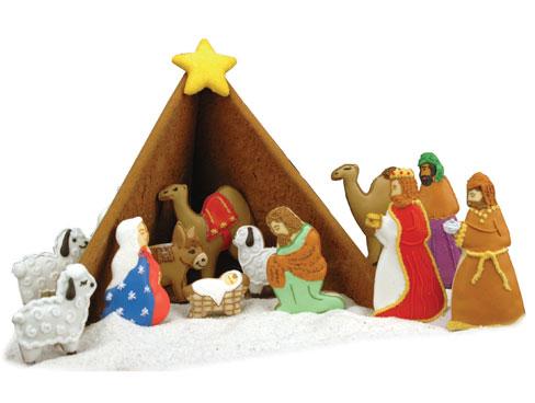 nativity cookie cutters