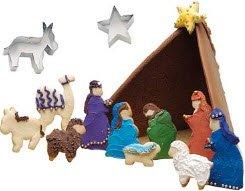 nativity scene cookie cutters