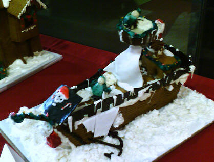 Gingerbread Pirate Ship