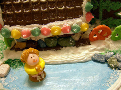 Gingerbread House Pond