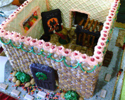 gingerbread witch house