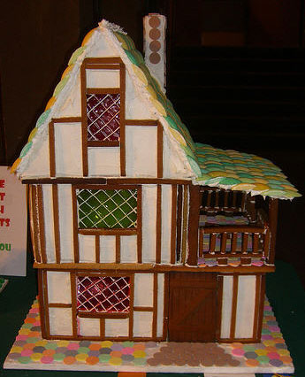 gingerbread tudor template