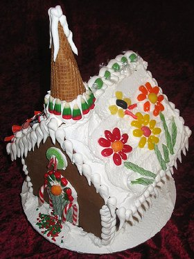 : decorating ideas gingerbread houses - www.pureclipart.com