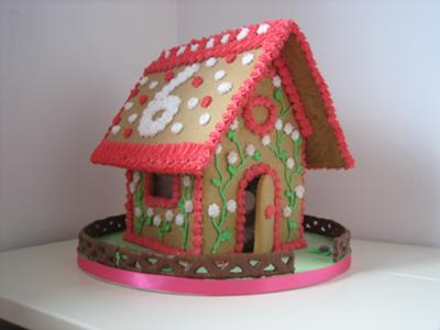 birthday gingerbread house