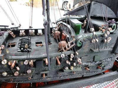 Black pearl gingerbread cake pirate ship black pearl gingerbread cake pirate ship by charles e mason ii hillsboro or usa maxwellsz