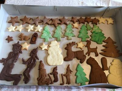 Chocolate and Gingerbread kids and more!