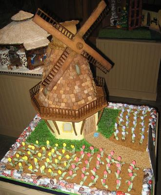 Gingerbread Windmill