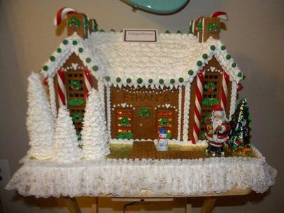Ethan S Christmas Cookie House