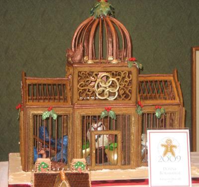 Birdcage Gingerbread House