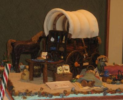Gingerbread Covered Wagon