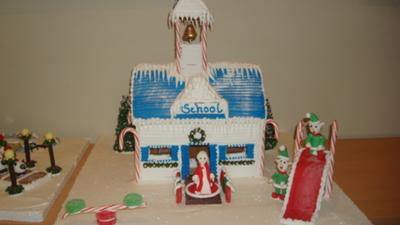 gingerbread school (for elves)