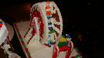 gingerbread ferris wheel