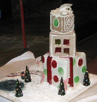 Gingerbread Gift House