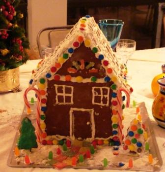 gingerbread house :)