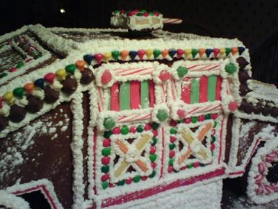 Gingerbread Humvee